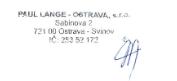 podpis p. Vyoral - PAUL LANGE