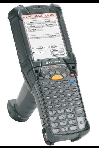 Mobilní terminál s aplikací eLogis - WMS