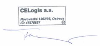 Jan Turoň společnost CELogis a.s.