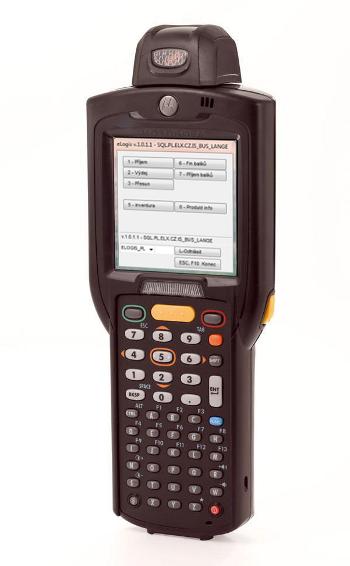 Mobilní terminál MC3190-R (rotační hlava) s aplikací pro řízení skladu eLogis - WMS