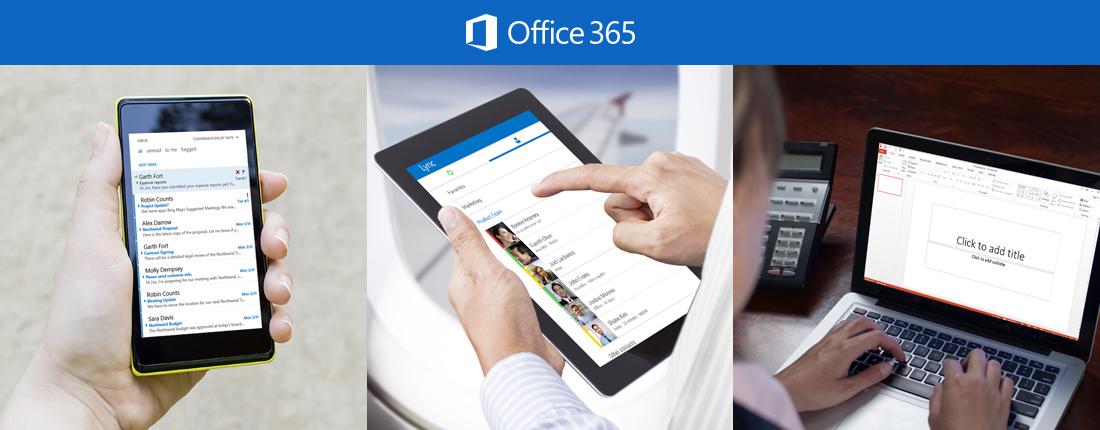 E LINKX a Office 365 - služby s přidanou hodnotou