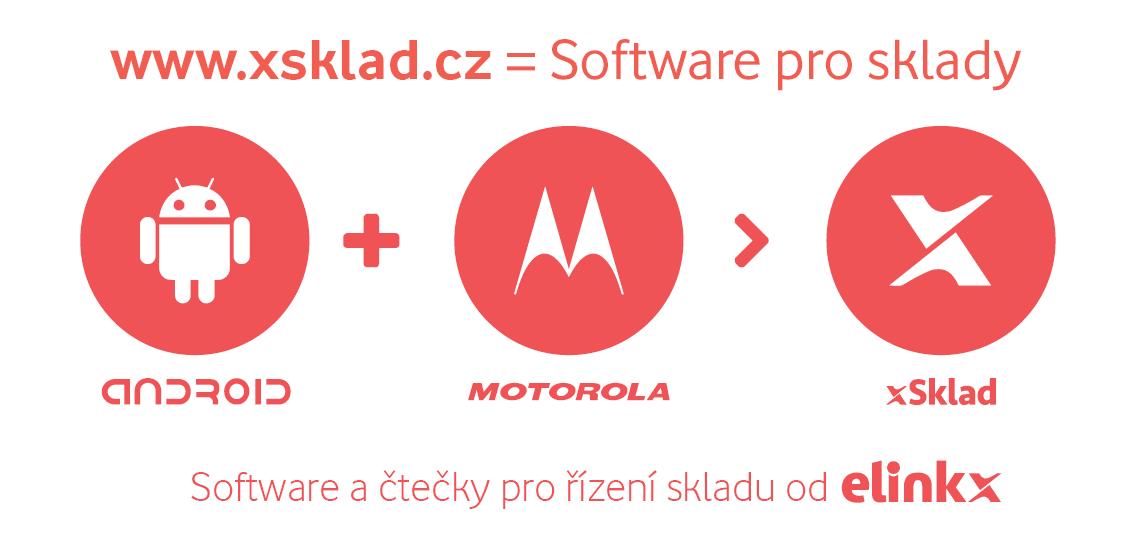 Software pro řízení skladu - xSklad bežící na čtečkách Motorola s operačním systémem Android