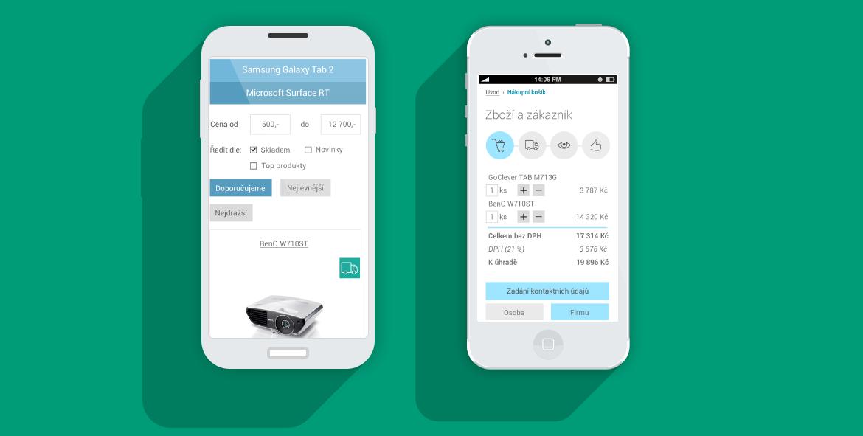 Responzivní e-shop řešení xShop.link