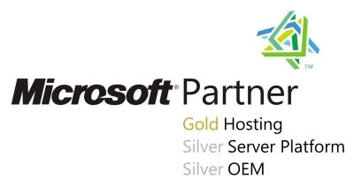 Microsoft Gold Hosting  logo