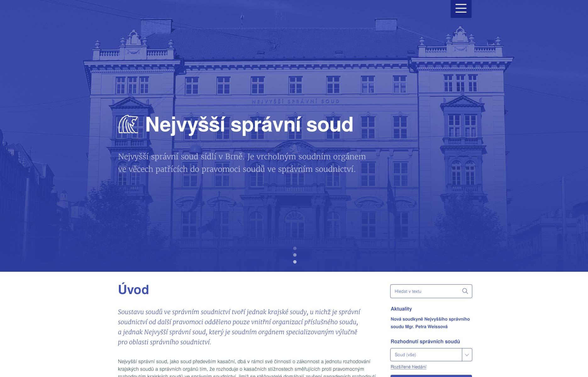 Nejvyšší správní soud ČR